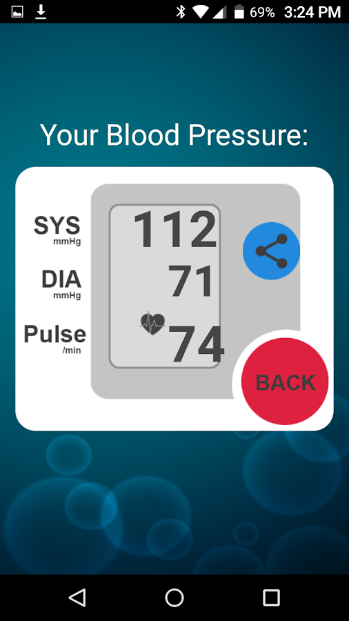 Blood Pressure BP Check- screenshot