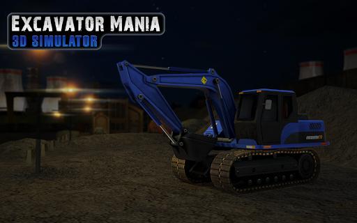 挖掘机疯狂模拟器