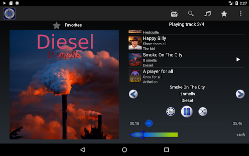 Loud Player - Audio player- screenshot thumbnail