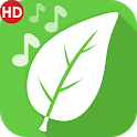 Nature sounds to relax and sleep icon