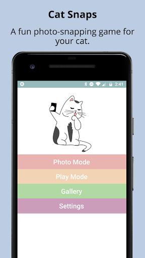 Cat Snaps - Selfies for Cats 1.1.3 screenshots 1