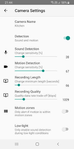 Zuricate Video Surveillance 1.12.1 screenshots 6