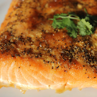 MOUTH WATERING BBQ SALMON