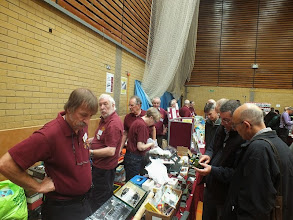 Photo: 007 Out in the main hall, the 7mm NG Association also photographed in full swing. I didn't manage to get to ask the sales team how the day went, but they certainly appeared to be very busy throughout the event .