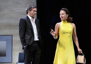 """Photo: WIEN/ Theater in der Josefstadt: """"VOR SONNENUNTERGANG"""" von Gerhard Hauptmann. Premiere 3.9.2015. Christian Nickel, Martina Stilp. Copyright: Barbara Zeininger"""