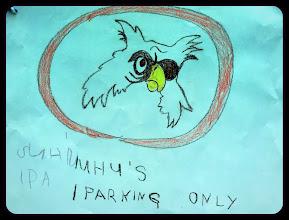 Photo: Ein eigener Parkplatz! Nur für UHUs !!!