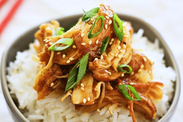 Crock Pot Honey Teriyaki Chicken Recipe