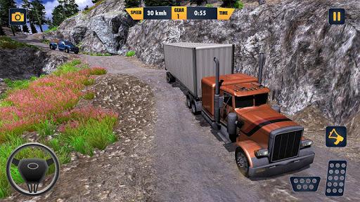 American Truck Cargo Car Transporter Driving 1.8 screenshots 2