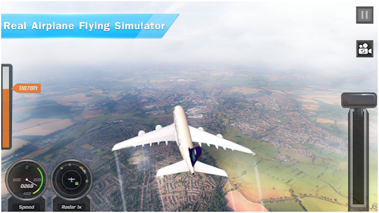 Airplane Games 2019: Aircraft Flying 3d Simulator 1