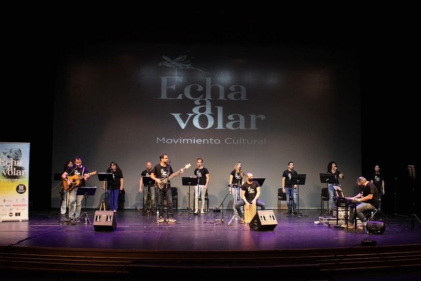 El disco de Echa a Volar fue presentado en el Auditorio el día 27-10.