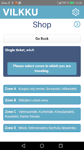 Vilkku -mobile ticket - náhled