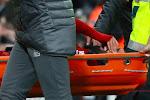 Update na zware botsing Salah, die met brandcard van het veld moest worden gedragen