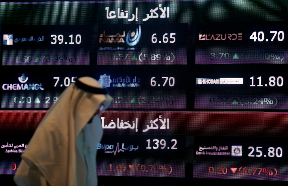 Saudi Aramco shares edge higher despite oil-price war