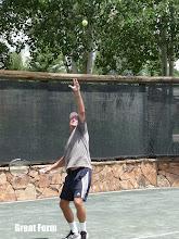 Photo: Tennis social event