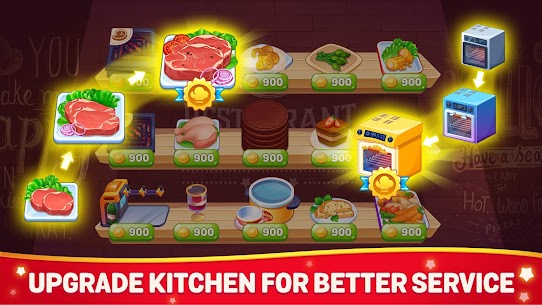 Cooking Dream MOD (Free Shopping) 3