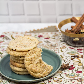 Chai Spiced Snickerdoodle Cookies.