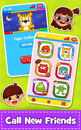 Baby Phone for toddlers - Numbers, Animals & Music apkpoly screenshots 4