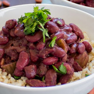 New Orleans-Style Vegan Red Beans & Rice.