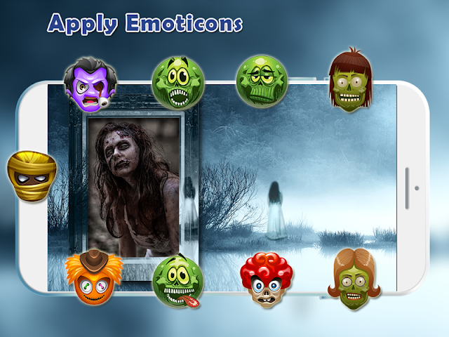android Scary Photo Frames Screenshot 13