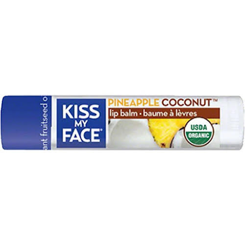 Kiss My Face Organic Lip Balm: Coconut Pineapple