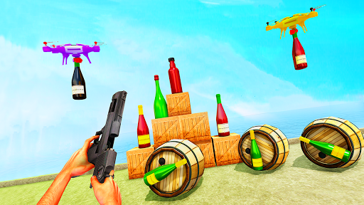 Capturas de pantalla de Bottle Shooting Master Game 3D 6