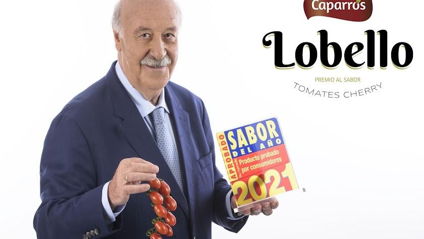 Vicente del Bosque se ha convertido en embajador de los productos de Caparrós Nature