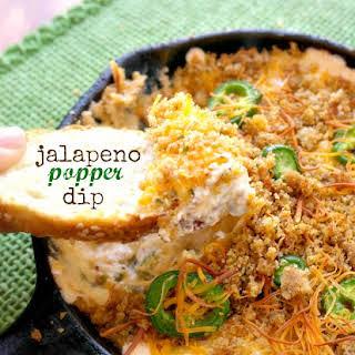 Easy Jalapeno Popper Dip.