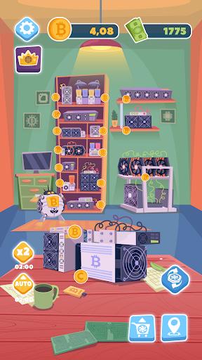 Bitcoin mining: life tycoon, idle miner simulator 1.0.3 screenshots 2