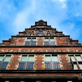Haarlem Vleeshal by Amanda Dacey - Buildings & Architecture Public & Historical ( history, building, haarlem, holland, the netherlands, vleeshal )