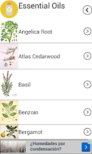 Essential Oils Guide- screenshot thumbnail