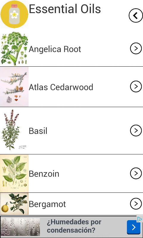 Essential Oils Guide- screenshot