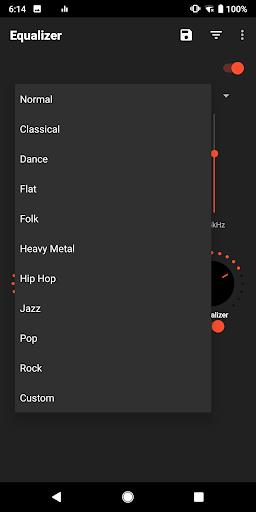 equalizer sound booster-volume boost-bass boost screenshot 3