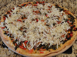 Spicy Spinach Pizza Recipe