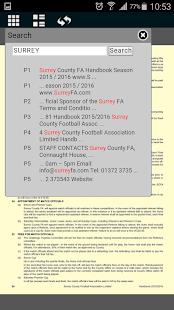 Surrey FA screenshot