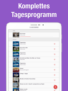 TV Programm App mit Live TV- screenshot thumbnail