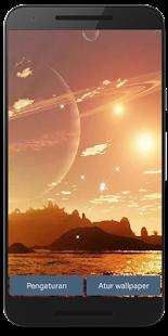 Alien Worlds Live Wallpaper HD - náhled