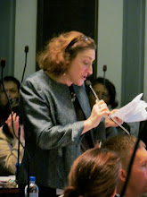 Photo: Rep. Deb Heffernan helps introduce the ADA 25 proclamation in the House, as well as some of the advocates gathered to witness the proclamation during Disability Day at Legislative Hall on 3.25.15