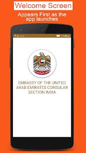 UAE Consular Sections India - náhled