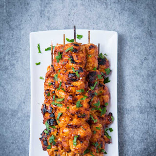 Bbq Chicken Kebabs.