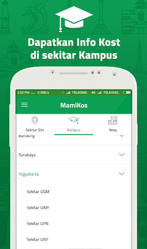MAMIKOST, kost/room Finder App 2.5.4 screenshots 3