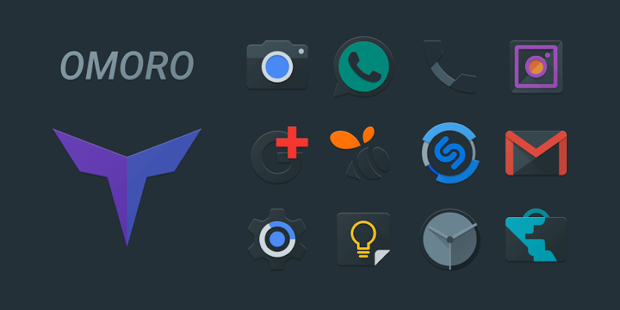 Omoro – Icon Pack v1.0.0
