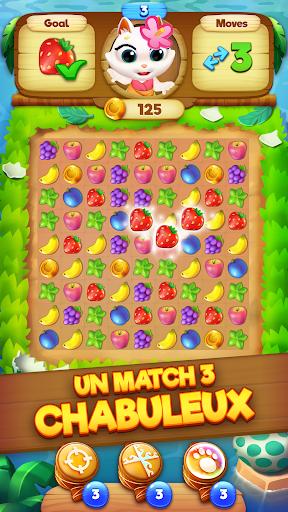 Code Triche Tropicats: Un Jeu de Chat Gratuit Match 3 Puzzle APK MOD screenshots 1