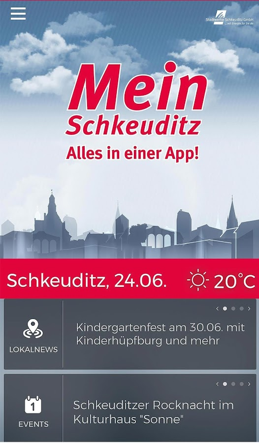 Mein Schkeuditz – Screenshot