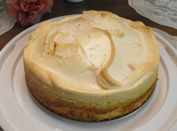 Kim's Coconut Cream Cheesecake