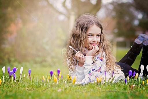 Spring Flowers Child Portraits Babies Children Pixoto
