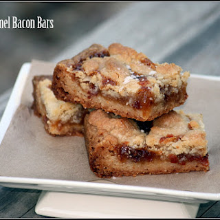 Salted Caramel Bacon Bars