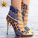 african women shoes icon