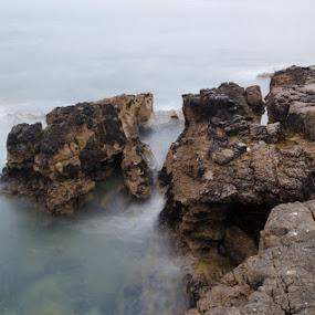 rocks by Miguel Lapa - Landscapes Waterscapes ( water, cascais, portugal, rocks )