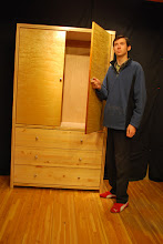 Photo: Lightweight Sandwich Core Armoire