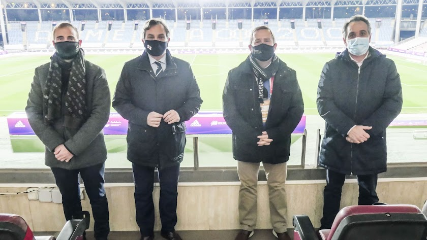 La Diputación con el fútbol femenino.